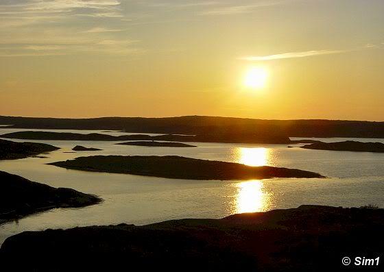Sunset at Stocken