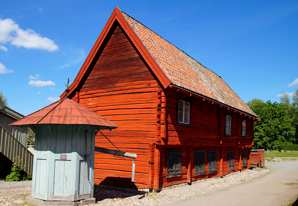 Köpmansgården, Vallby Open Air Museum