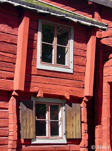 Detail of the Cajsa Warg Hus